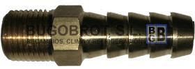"""Motores condensadores 17-5005 - RACOR BOMBA DE COMBUSTIBLE 1/8"""" NPT ESPIGA DE 8 MM."""