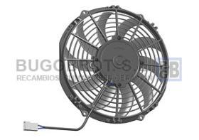 Electro ventiladores 18-09076 - ELEC. SPAL 255 MM. CURV. SOP.  VA11-AP7/C57S  (78-1187)