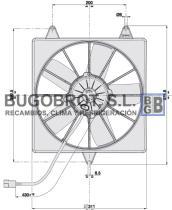 Electro ventiladores 18-09098 - ELEC. SPAL 280MM. REC. SOP. 24. VA04-BP70/LL-37S