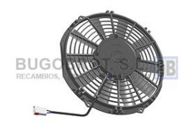 Electro ventiladores 18-1009P - ELEC. SPAL 255MM. REC. SOP. 12V.  VA11-AP7/C29S  = 18-09076