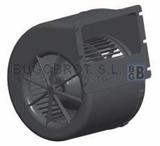 Electro ventiladores 19-20021 - CENTRIFUGO 1 EJE 24 V. 1 VEL.  SPAL  007-B44-32D