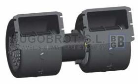 Electro ventiladores 19-4022B - CENTRIFUGO SPAL  24 V.  DOBLE EJE 24 V.  (009-B40-22)