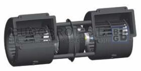 Electro ventiladores 19-4602A - CENTRIFUGO DOBLE EJE 12V. 3 VELOC.  SPAL (002-A46-02)