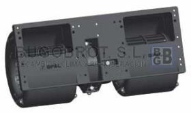 "Electro ventiladores 19-4622A - CENTRIFUGO SPAL DOBLE EJE 12 V.  006A46-22  ""AGRICOLA"""