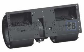 Electro ventiladores 19-5022B - CENTRIFUGO SPAL DOBLE 24 V.  006-B50-22