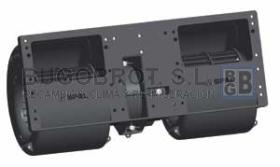 Electro ventiladores 19-5422 - CENTRIFUGO DOBLE EJE 12V. MB W124 - BMW (006-A54-22)