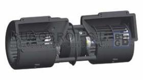 Electro ventiladores 19-8001 - CENTRIFUGO DOBLE EJE 12 V.  3 VEL.  (SPAL  005A45-02)
