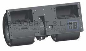 Electro ventiladores 19-8035 - CENTRIFUGO SPAL DOBLE EJE 24 V. (006-B39-22)