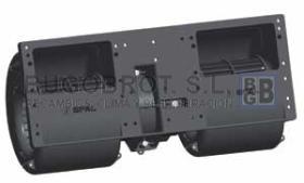 Electro ventiladores 19-8036 - CENTRIFUGO SPAL DOBLE EJE 24V. 3 VEL. (006-B40-22)(78-1297)