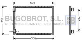 Condensador 60-UV5024 - CONDENSADOR ESTÁNDAR / UNIVERSAL